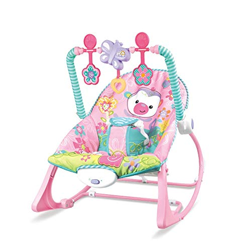 Great Price! Btybess Music Appeases The Baby Sleeping Bouncers, with Soothing Vibrations Infant-to-T...