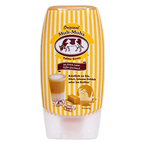 Original Sahne Toffe Muh-Muhs Toffee Sauce, 140ml