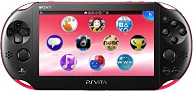 PS Vita Slim - Pink / Black - Wi-fi (PCH-2000ZA15)