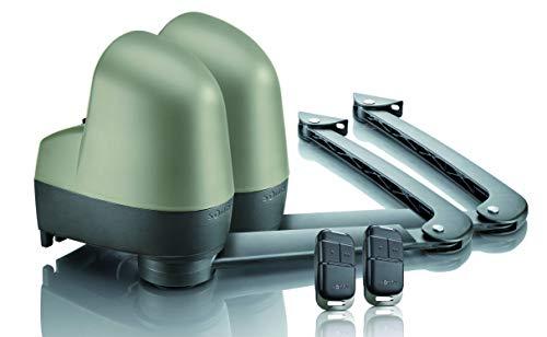 Somfy 2400853 - Motor para puerta batiente SGA 4100 de garajes con brazos articulados para automatización, compatible con Tahoma