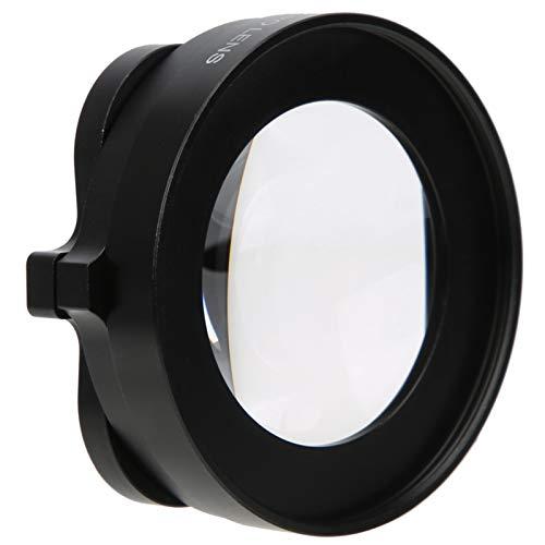 Dpofirs Filtro de Lente de cámara de acción Macro de 58 mm / 2,3 Pulgadas para GOP-RO Hero 8 Negro, Kit de Filtro 16X para fotografía Macro, Filtro de cámara de foltografía subacuática