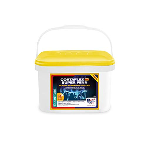 Equine America Cortaflex HA Super Fenn Super Strength Powder | Premium Ready To Use Horse & Pony Supplement | Supports Optimum Joint Mobility & Recovery | 4.5kg