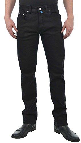 Pierre Cardin Herren Futureflex Tapered Fit Jeans, Schwarz (Schwarz 88), W33/L32