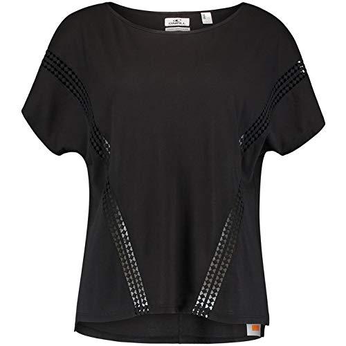 O'NEILL LW Cali Sunset T-Shirt Camiseta Manga Corta Mujer, Black out, S