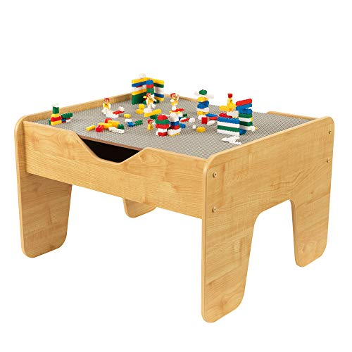 KidKraft 2in1 Activity Table with Board Gray/Natural 285quot x 235quot x 325quot