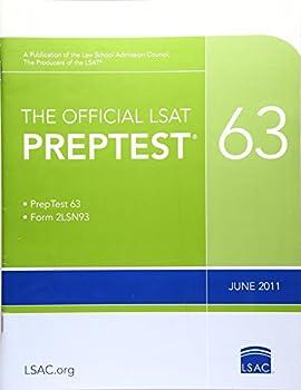 The Official LSAT PrepTest 63   June 2011 LSAT