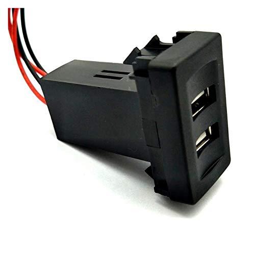 LLPing Cargador de automóviles Cargador USB Cargador USB Dual Ajuste para VW FIT para VOLKSWAGEN T4 Modelos 2.1A FIT FOR VOLKSWAGEN Cargador de coche Cargador especial Coche especial pingpingyuan