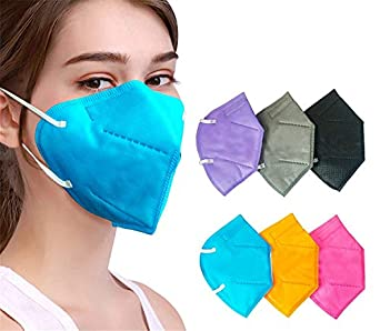 Avekin K-N95 Masks With Respirator Without Air filter Washable Mask Pack Of 5 (Reusable)