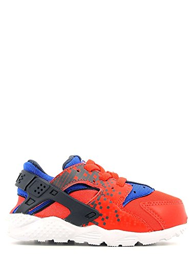Nike Unisex Baby Huarache Run Print (TD) Sneaker, Rot, 25 EU