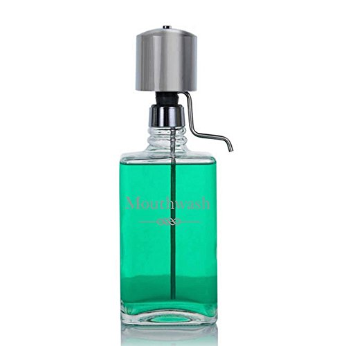 The Perfect Measure Mouthwash Dispenser Lead-Free Crystal...