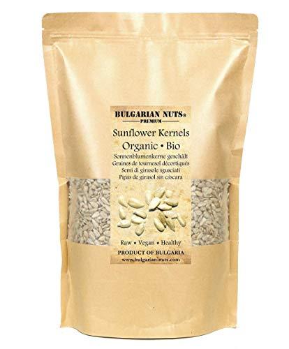 2.5 kg Pipa pelada de girasol orgánico, semillas de girasol enteras sin cascarón -...