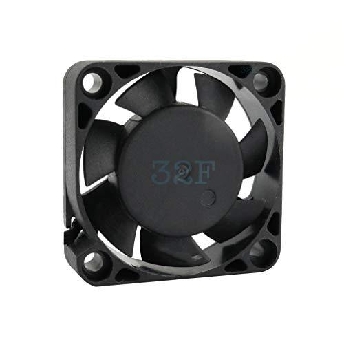 32F-fläkt 40 mm 40 x 40 x 10 5500 RPM 12 V 0,16A DC Air Fan 4 cm 40 mm 3-delad 3-polig med Tacho-sensor kylning 40 x 40 x 10