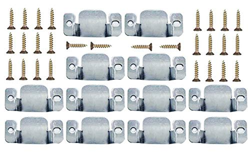 12 Pcs Sofa linker Furniture Connector with Screws Interlocking Furniture Connector with 28 PSC Screws,sectional Sofa Connector