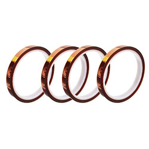 Hitzebeständiges Klebeband, Transferband, 7 mm/10 mm/13 mm, Polyimid-Folie, 3D-Drucker, Hochtemperatur-Klebeband