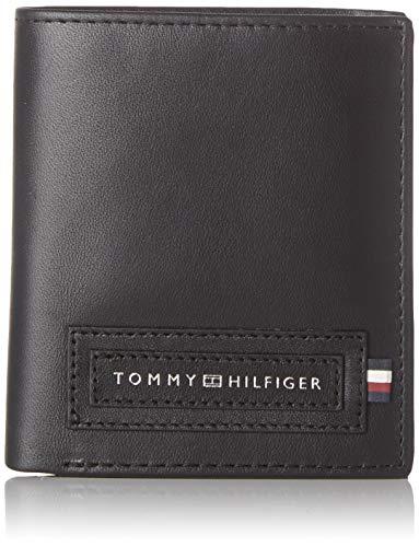 Tommy Hilfiger - Modern Tall Ns Trifold, Carteras Hombre, Negro (Black), 0.1x0.1x0.1 cm (W x H L)