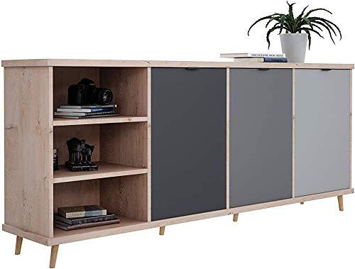 Meal Beistellschrank Kommode Sideboards Modern Nostalgisch Wohnzimmer Esszimmer Küche Schlafzimmer Korridor Sideboard...