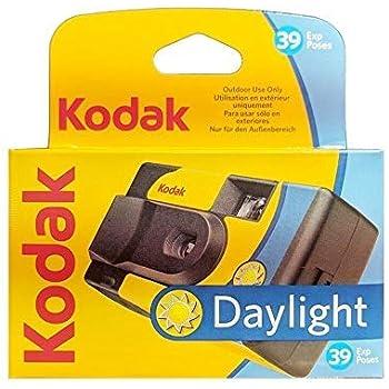 Kodak SUC Daylight 39 800iso Appareil Photo analogique jetable Jaune et Bleu