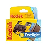 Kodak SUC Daylight 39 800ISO - Cámara analógica desechable, Color Amarillo y Azul