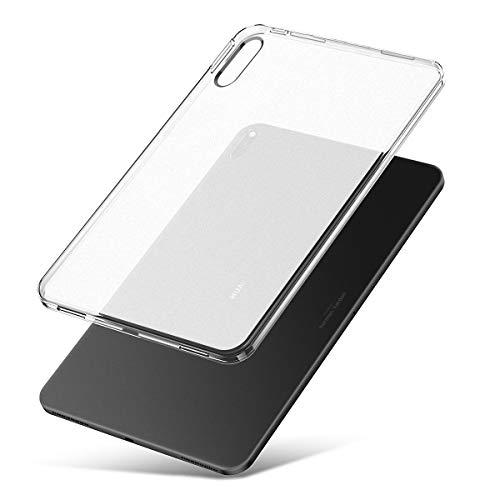 J&D Compatibile per Huawei MatePad Pro MatePad Pro 5G Cover, [Cuscino Matte] [Paraurti Leggero] [Goccia Protezione] Urto Resistente Protettive Rubber Tablet Sottile Matte Custodia per MatePad Pro