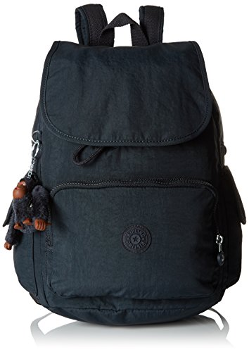 Kipling Damen City Pack Rucksack, Blau (True Navy), 32x37x18.5 cm