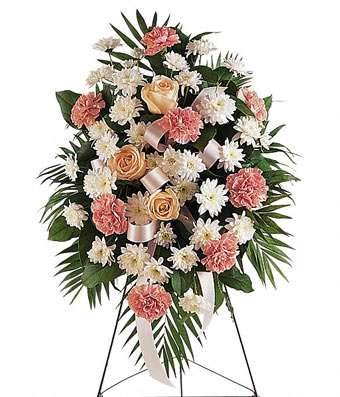 Come Back Love Funeral Flower Arrangements