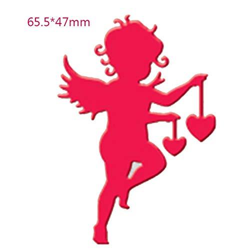 Pijl-hart-liefde Valentijnsversiering metalen snij-sjablonen voor doe-het-zelf scrapbooking decoratie stempelen van papieren kaarten Craft Die H2004