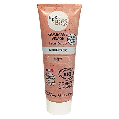 Born To Bio Bio Exfoliante Facial De Cítricos 75 ml