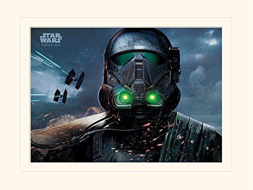 Pyramid International Star Wars Rogue Uno (Muerte Trooper Glow)–de el Hobbit Memorabilia 30x 40cm, Papel, Multicolor, 30x 40x 1,3cm