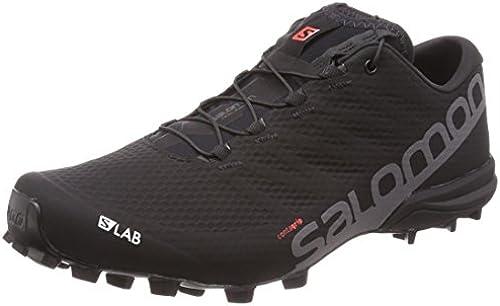Salomon Unisex-Erwachsene S Lab Speed 2 Traillaufschuhe, Schwarz 11 UK