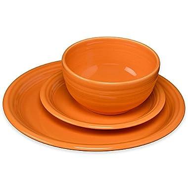 Fiesta 3 Piece Bistro Set, Tangerine