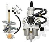 KIE TRX 250 Carburetor with Fuel Valve...