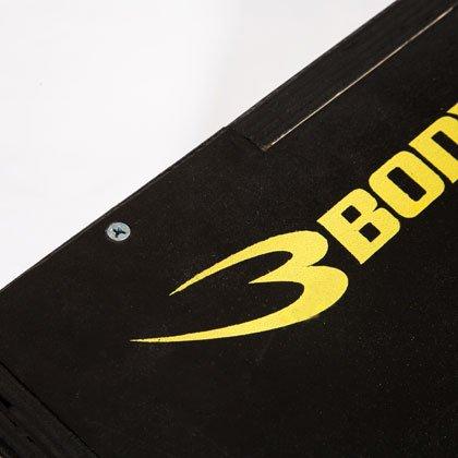 ボディメーカー(BODYMAKER)ジャンピングプライオBOXブラック×イエローTG104BKYE陸上競技トレーニングプライオメトリクストレーニング用ボックスプライオボックスジャンプボックス下半身踏み台