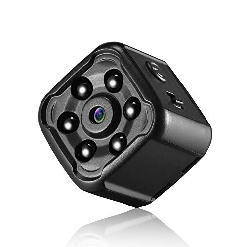 Hidden Camera, Mofek Mini Spy Camera HD 1080P Body Camera Cop Cam with Night Vision and Motion Detection for Home Security, Car, Office, Pet/Baby/Elder Monitor