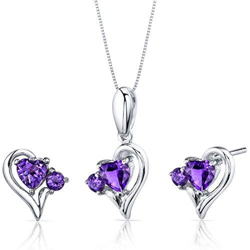 Revoni - Parure composta da collana e orecchini da donna in argento 925/1000, 3,4 g, Argento 925/1000, cod. PER-SS3768