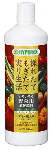 ハイポネックスジャパン『いろいろな野菜用液体肥料』
