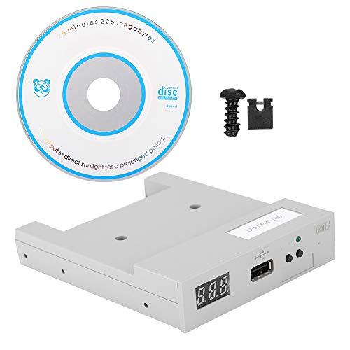 USB-Laufwerkemulator, UFA1M44-100 USB-Diskettenemulator mit Diskettenlaufwerk Gleiche Größe wie normales 3,5-Zoll-Diskettenlaufwerk, Verbindung zum Computer über ein USB-Kabel, einfache Verwendung