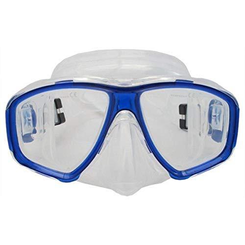 Prime Scuba-Set maschera e boccaglio da immersione blu FARSIGHTED prescrizione RX ottico con lenti correttive