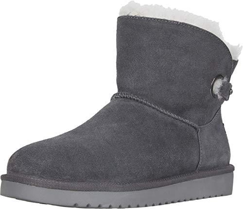 Koolaburra by UGG Women's Remley Mini Classic Boot, Stone Grey, 38 EU