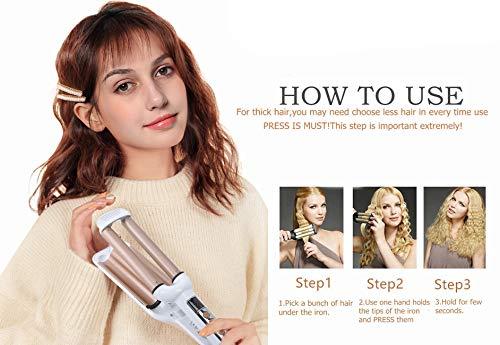 Mannice Ceramic Hair Crimper Hair Waver Product Image