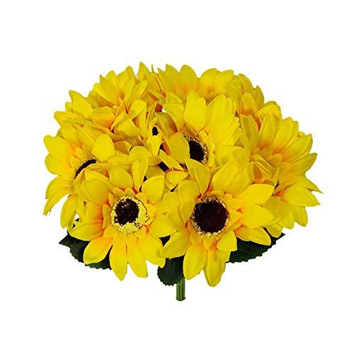 Künstliche Sonnenblumensträuße,...