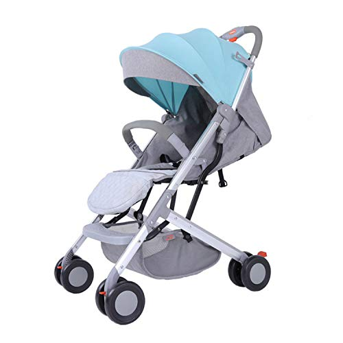 Fantastic Prices! AIBAB Baby Cart Baby Carriage Travel System Lightweight Folding Third Gear Adjustm...