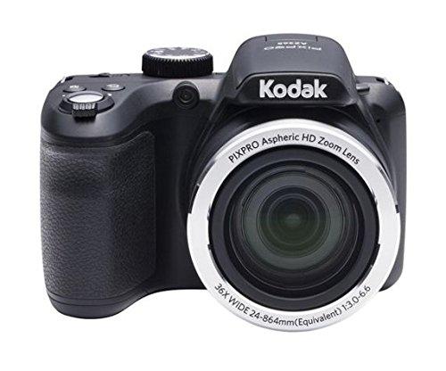 Kodak PIXPRO AZ365 Cámara Puente 16,15 MP 4608 x 3456 Pixeles Negro - Cámara Digital (16,15 MP, 4608 x 3456 Pixeles, 36x, HD, 436 g, Negro)