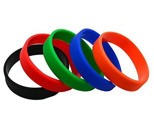 MakakaOnTheRun Fermasoldi, 0.1 Ersatzbänder für Carbon Slim Wallet (für Farbe 0 mit Eingebautem Münzfach) (Multicolore) - MOTR-CF5-SB