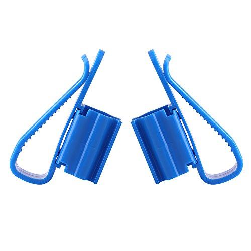 Yosoo Schlauchhalter Plastik für Fisch Tank Aquarium Rohr schlauchhalter Montieren Plastikhalter Multifunktionsclip für Wasser Rohr Wasserwechsel Aquarium Zubehör (1 Paar)