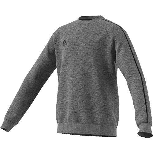 adidas Kinder Core18 SW Top Y Sweat-Shirt, Grau (dark grey heather/Black), XL(164)