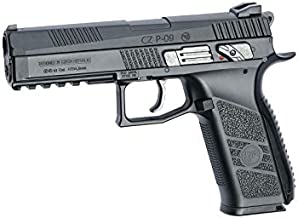 ASG CZ P-09 .177 Caliber Pellet/BB Gun Blowback Air Pistol, Black