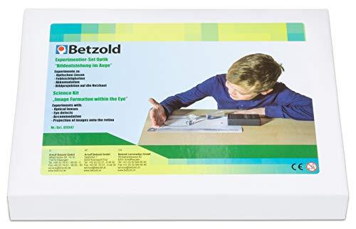 Betzold 89947 - Experimentier-Set Optik - Experimente mit optischen Linsen, inkl. Arbeitsunterlagen