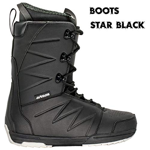 Airtracks - Set da tavola senza Fears Carbon Wide Hybrid Rocker 152 + attacchi snowboard Master + Boots Star Black 44 + Sb Bag