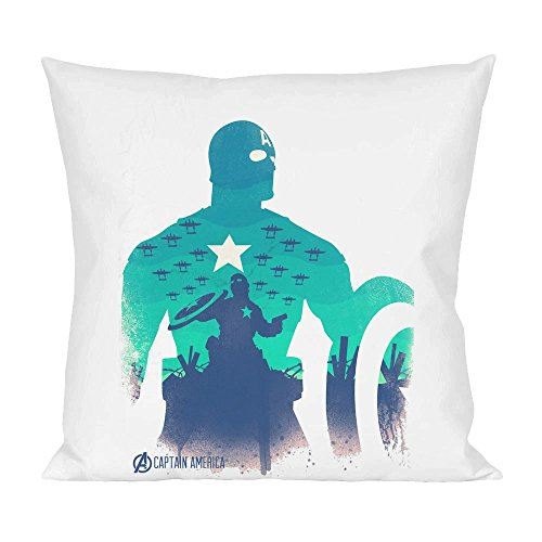 Captain america avengers poster Pillow