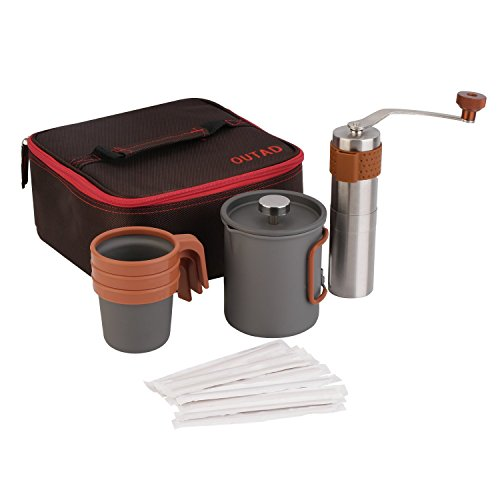 OUTAD Portable Coffee Maker Set